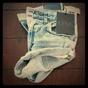 Bandit Parisian Artist shorts